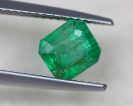1.29ct Natural Zambia Green Emerald Lot GW4042