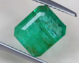 2.38ct Natural Zambia Green Emerald Lot GW4044