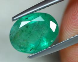 1.98ct Natural Zambia Green Emerald Lot GW4047