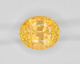 Yellow Sapphire, 12.12ct - Mined in Sri Lanka | Certified by GRS
