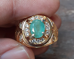 NR 47.75 CRT EMERALD WITH RING