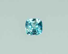 2.10 Cts Marvelous Lustrous Cambodian Blue Zircon