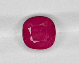 Ruby, 2.49ct - Mined in Burma | Certified by GRS