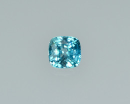 2.44 Cts Dazzling Lustrous Cambodian Blue Zircon