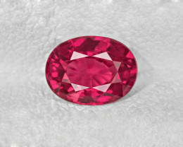 Ruby, 1.08ct - Mined in Mozambique | Certified by IGI