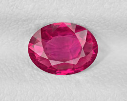 Ruby, 1.03ct - Mined in Mozambique | Certified by IGI