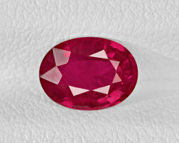 Ruby, 1.28ct - Mined in Mozambique | Certified by IGI