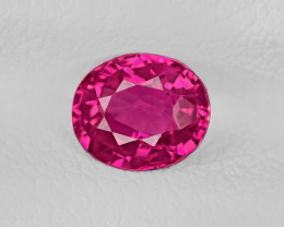 Ruby, 1.05ct - Mined in Mozambique   Certified by IGI