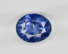 Blue Sapphire, 2.34ct - Mined in Kashmir | Certified by IGI