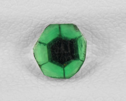 Trapiche Emerald, 0.56ct - Mined in Colombia | Certified by IGI