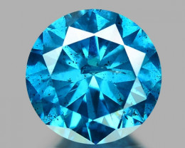 0.22 CT DIAMOND SPARKLING BLUE COLOR BD 2
