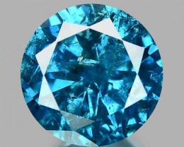 0.31 CT DIAMOND SPARKLING BLUE COLOR BD 3
