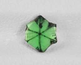 Trapiche Emerald, 0.59ct - Mined in Colombia | Certified by IGI