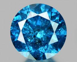 0.26 CT DIAMOND SPARKLING BLUE COLOR BD11
