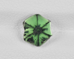 Trapiche Emerald, 0.92ct - Mined in Colombia | Certified by IGI
