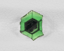 Trapiche Emerald, 0.60ct - Mined in Colombia | Certified by IGI