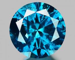 0.32 CT DIAMOND SPARKLING BLUE COLOR BD24