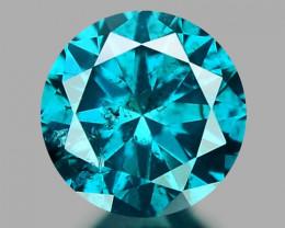 0.31 CT DIAMOND SPARKLING BLUE COLOR BD29