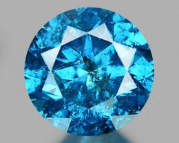 0.32 CT DIAMOND SPARKLING BLUE COLOR BD30