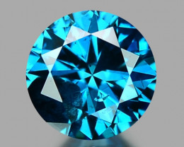 0.31 CT DIAMOND SPARKLING BLUE COLOR BD31