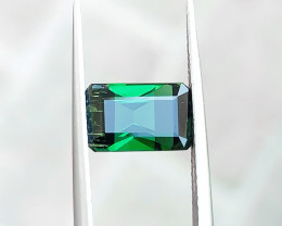 2.20 Ct Natural Greenish Transparent Tourmaline Gemstone
