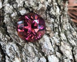 Precision-cut Pink Tourmaline - 31.81 carats