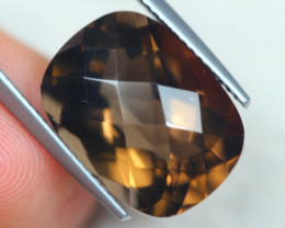 11.38Ct Smoky Quartz Octagon Cut Lot B670