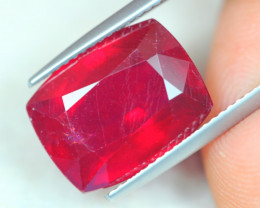 13.03Ct Blood Red Color Ruby Octagon Cut Lot A868