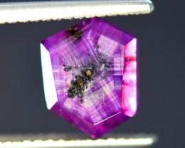 Rarest  5.90 ct Bluish Pink Kashmir Sapphire Trapiche