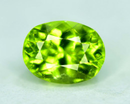 3.25 Natural Olivine Green Natural Peridot Gemstone