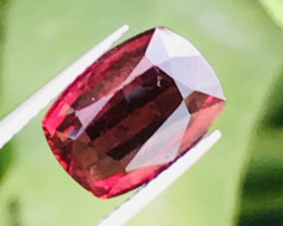 3.20 carats red wine color  Tourmaline Gemstone From Afghanistan
