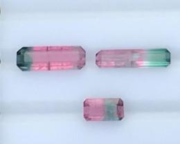 4.20 carats Watermelon Bi color Tourmaline Gemstone From Afghanistan