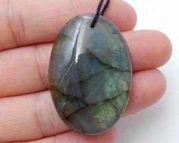 Sale 57ct Labradorite Cabochon, healing Stone, Wholesale Jewelry  D27