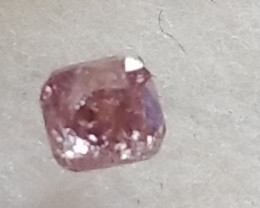 NATURAL UNTREATED-ARGYLEPURPLE-PINKDIAMOND-0.27CTWSIZE-1PCS,NR