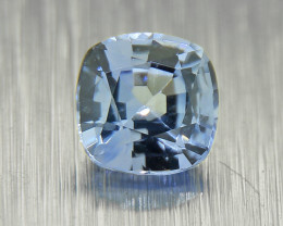 Unheated Blue Sapphire well-cut, good brilliance (01556)