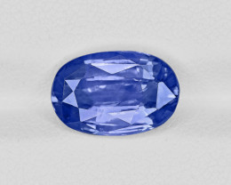 Blue Sapphire, 5.22ct - Mined in Sri Lanka | Certified by GRS