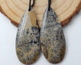 Beautiful Chohua Jasper,Natural Chohua Jasper Oval Shape Earrings D75