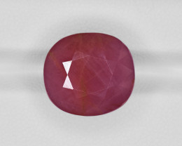 Ruby, 21.85ct - Mined in Guinea | Certified by GII