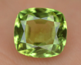 5.00 Ct Untreated Fancy Cut Green Peridot