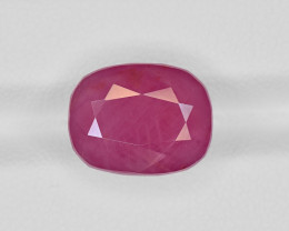 Ruby, 9.64ct - Mined in Guinea | Certified by GII