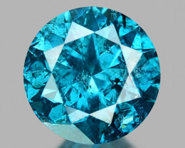 0.42 Ct Blue Diamond Top Class Sparkiling Luster Gemstone. DB 01