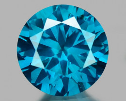 0.36 Ct Blue Diamond Top Class Sparkiling Luster Gemstone. DB 03