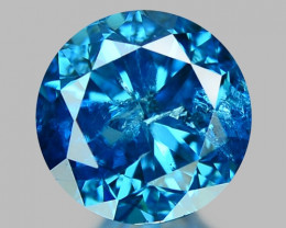 0.44 Ct Blue Diamond Top Class Sparkiling Luster Gemstone. DB 04