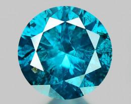 0.19 Ct Blue Diamond Top Class Sparkiling Luster Gemstone. DB 10