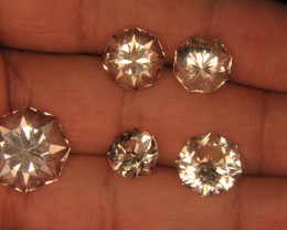 Wow Very Beautiful Cut Golden Topaz Lot From Pakistan