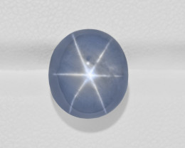 Blue Star Sapphire, 14.37ct - Mined in Sri Lanka | Certified by GRS