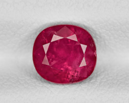 Ruby, 1.70ct - Mined in Afghanistan | Certified by IGI