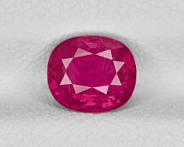 Ruby, 1.81ct - Mined in Afghanistan | Certified by IGI