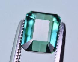 Top Color 1.25 Ct Natural Greenish Blue Tourmaline. RA3