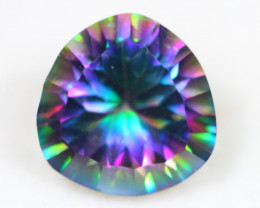 5.21Ct Mystic Topaz Octagon Cut Lot Z342